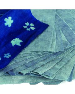 Specialist Crafts Blue Print Fabric