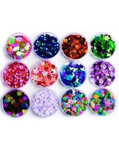 Mixed Sequin Selection