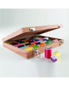 SureStitch 200m Reel Wooden Selection Box