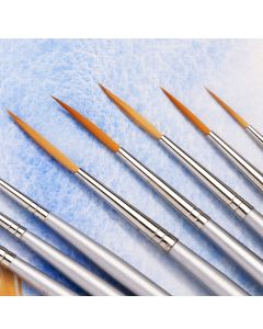 Specialist Crafts Premium Short Handled Synthetic Liner Brushes