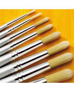 Specialist Crafts Premium Long Handled Tynex Round Brushes