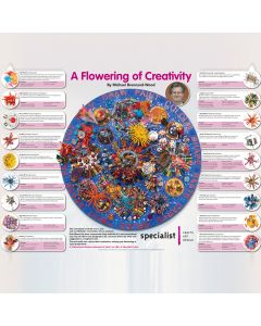 A Flowering of Creativity Poster
