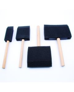Foam Brushes. Set of 4