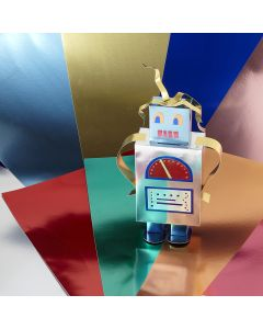 Metallic Modelling Card Assortment