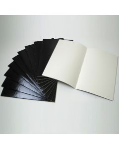 Specialist Crafts Standard Stapled Sketchbooks - Black Laminated