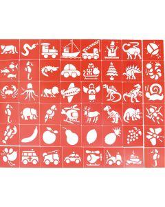 Plastic Stencils Class Pack