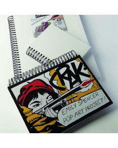 Canvas Cover Sketchbook
