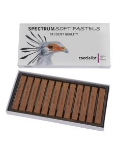 Spectrum Bistre Soft Pastels
