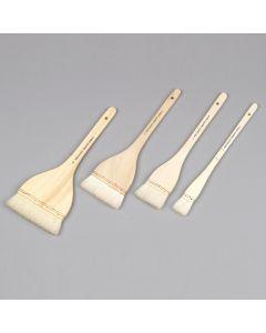 Specialist Crafts Hake Wash Brushes. Set of 4