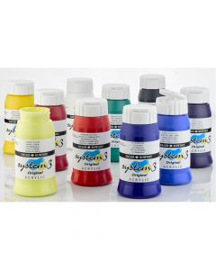 System 3 Original Acrylic Assorted 550ml Set