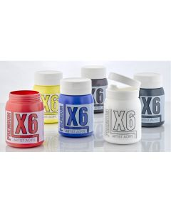 X6 Premium Acryl 500ml Assorted Set