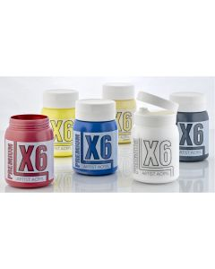 X6 Premium Acryl 500ml Portrait Set