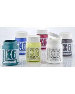 X6 Premium Acryl 500ml Landscape Set