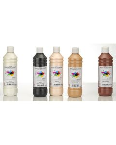 Specialist Crafts Premium Readymixed 500ml - Skin Tones Set