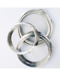 Soft Aluminium Rod Selection. Pack of 3