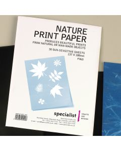 Specialist Crafts Nature Print Paper Pack
