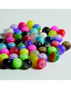 Moon Resin Beads - 10mm