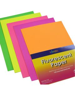 Fluorescent Paper A4 Assortment