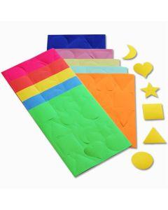 Gummed Paper Shapes