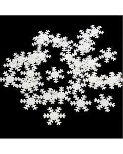 Snowflakes Confetti Shaker
