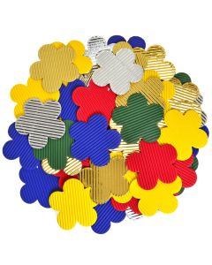 Corrugated Paper Flower Shapes
