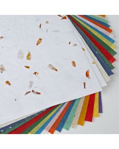 Natural Paper Assortment. Pack of 18 sheets.