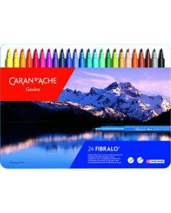Caran d'Ache Fibralo Superfibre Aquarelle Set of 24
