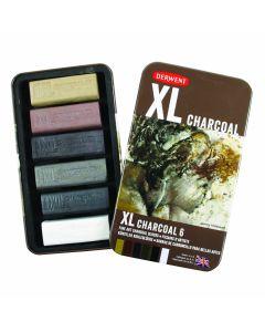 Derwent XL Charcoal Block Set of 6