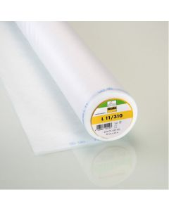 Vlieseline Sew-In Non-Fusible Interfacings Lightweight 90cm Wide - White