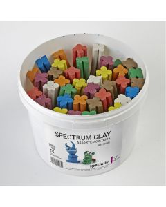 Spectrum Clay 10kg Tubs. Assorted