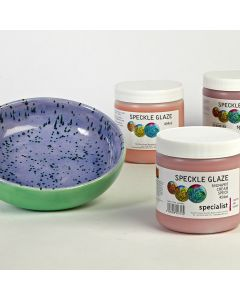 Speckle Effect Glazes