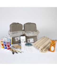 Specialist Crafts Air Drying Clay Modelling Kit
