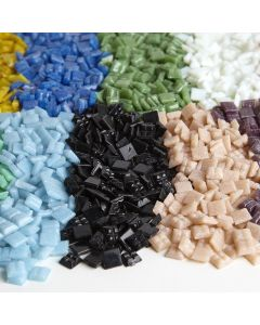 10mm Glass Mosaics Bulk Pack