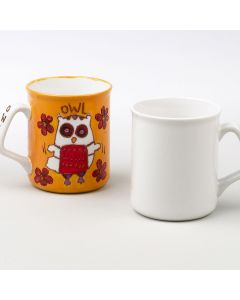 Plain Ceramic Mug to Decorate