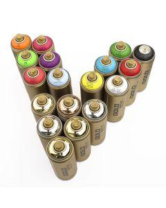 Montana GOLD Matt Spray Paints Metallics Set