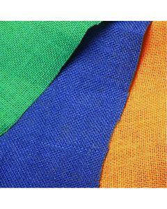 Dyed Hessian Fabric