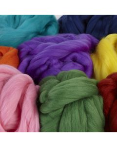 Dyed Merino Wool