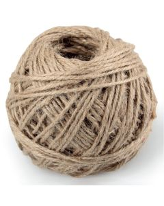 Natural Coloured Jute Cord - 40m Roll