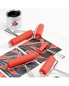 Metal Handle Inking Rollers