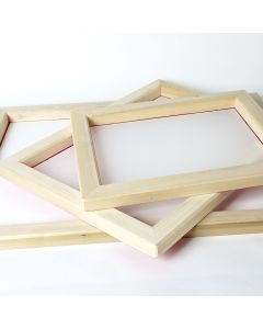 Premium Wooden Pre-Meshed Frames