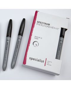 Spectrum Permanent Markers Pack of 12