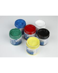 Speedball Water-Soluble Block Printing Inks Assortment. Set of 6