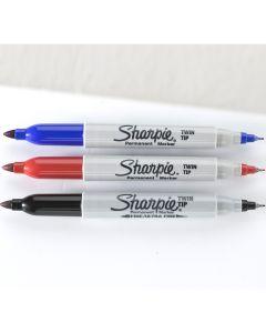 Twin Tip Sharpie Markers - Black