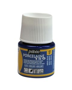 Pebeo Porcelaine 150 Paint - 45ml - Ming Blue