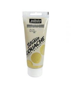 Pebeo Studio Gouache Metallics 100ml - Gold