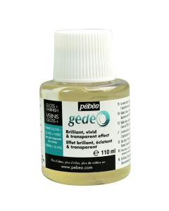 Pebeo Gedeo Resin Gloss Finish - 110ml Bottle