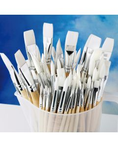 Essential Synthetic Watercolour Brush Class Pack