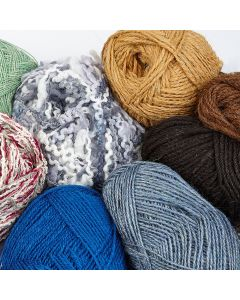Mixed Textured Yarn Pack